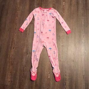 Babies R Us Zip Up Cotton Ballerina Sleeper